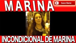 Marina El video mas visto , Tema de Jeros Agua y Veneno y de los Chichos Quisiera ser el dueño
