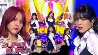 [Comeback Stage] AOA - Super Duper , 에이오에이 - 수퍼두퍼 Show Music core 20180602
