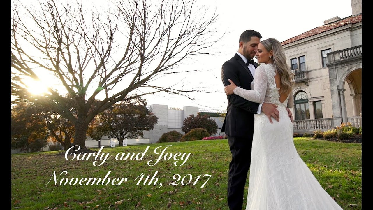 Joey + Carly | Wilmington, Delaware | The Patio at Archmere Academy