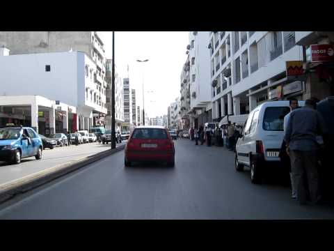 20. ATWJ – mhoey.eu/ Riding in center of Rabat, Morocco part 3