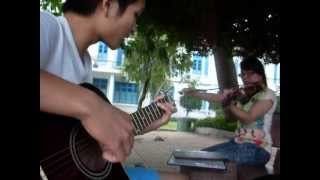 Bụi Phấn- Guitar, violin version