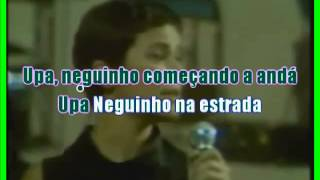 VIDEO KARAOKE ELIS REGINA UPA NEGUINHO