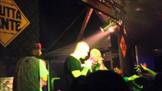 Barracruda feat Suarez - Ghost Dogz live @ Big Bang 15-02-2014 BRUTTA GENTE