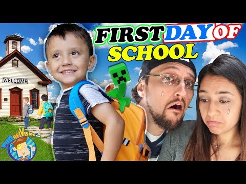 Download Video SHAWN'S FIRST DAY OF SCHOOL!  Dad Not Handling It So Well! (FV Family Vlog)