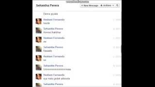 Sehantha & Heshani | Facebook Chats