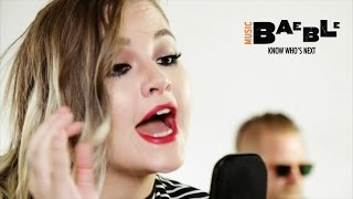 "Masha performs ""Catch A Feeling"" exclusively for Baeble"