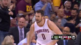 Kevin Love and Kyrie Irving light up the first half in Cleveland | May 21, 2017