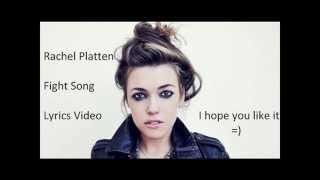Rachel Platten - Fight Song Lyrics Video