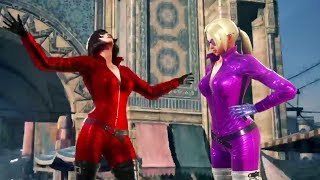 Tekken 7 - Anna Williams vs Nina Williams Voice Mod