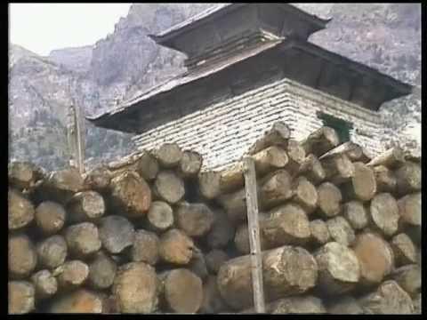 Nepal Annapurna Circuit Marpha to Khobang 1997