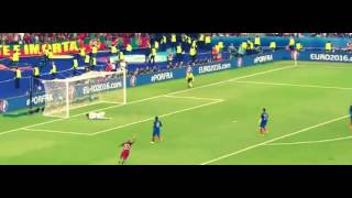 Portugal vs France 1:0  Goal eder ( Final Euro 2016 )