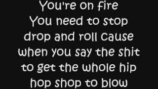 Eminem - On Fire lyrics
