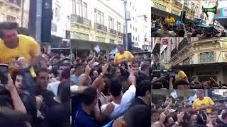 Multi câmera lenta - Bolsonaro sofre ataque