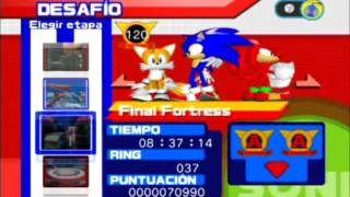 Sonic Heroes- All stages- A rank and Super Hard Mode Completed