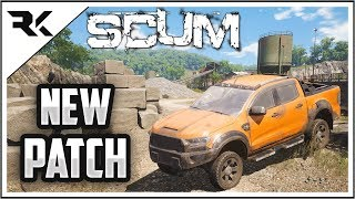 SCUM - New Patch Just Dropped! Quarry Location + New Vehicle!