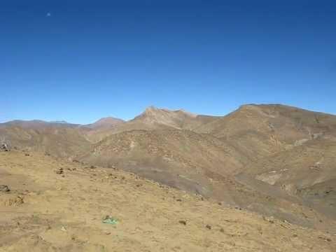 Тибет. Дорога в Непал.AVI