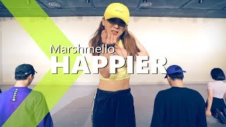 Marshmello ft. Bastille - Happier / WENDY Choreography.