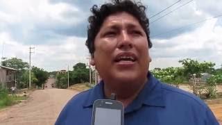 Alcalde Hugo Sosa verifica obra en Von Humboldt - Ucayali