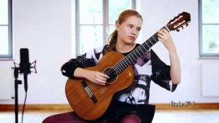 Leonora Spangenberger (13) plays 12 Etudes by Heitor Villa Lobos: Etude No 1