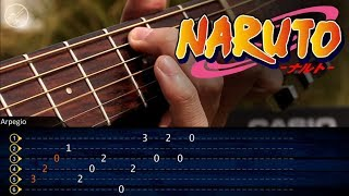 El Arpegio mas triste en Guitarra | Naruto Sadness and Sorrow TABS | Christianvib Tutorial