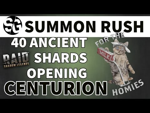 [RAID SHADOW LEGENDS] OPEN 40 ANCIENT SHARDS FOR CENTURION