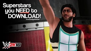 WWE 2K18 Superstars You NEED to Download: Mustafa Ali (PlayStation 4)
