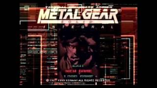 MGS1 Soundtrack OST - Warhead Storage