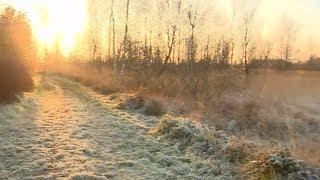 WINTEREINBRUCH: Erster Schnee kündigt den Winter an