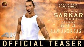 sarkar - official teaser - GTA SAN ANDREAS | thalapathy vijay | A.R murugadoss |  slow poion