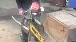 fastest chainsaw ever