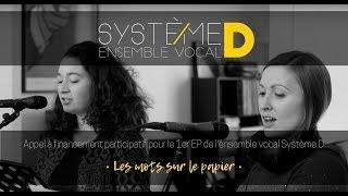 Premier disque de Système D - Les mots sur le papier