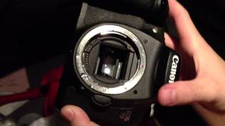 Canon 7D Camera - The sound of dying after underwater flood