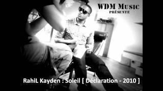 [PROMO ZOUK]RAHIL KAYDEN-SOLEIL-2010