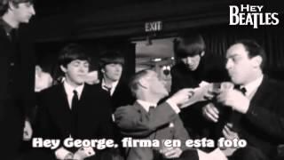 The Beatles - Escena Graciosa en A Hard Day's Night!
