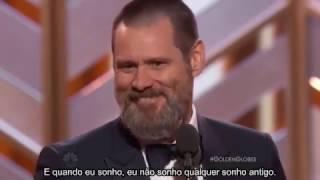 Jim Carrey - Discurso no Globo de Ouro 2016 (Golden Globe) - Legendado