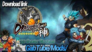 Dragon Ball Shin Budokai 2 GodZ 2019 new mod