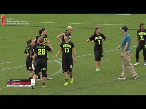 Video Thumbnail: 2016 National Championships, Women's Final: Boston Brute Squad vs. Seattle Riot