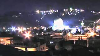 Temple Mount UFO -  28.01.2011 (2 Different Witnesses)