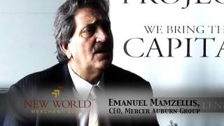 Emanuel Mamzellis, CEO, Mercer Auburn Group
