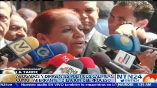 Difieren por décima vez audiencia contra Antonio Ledezma