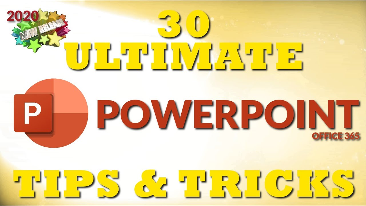 30 Ultimate PowerPoint Tips and Tricks for 2020