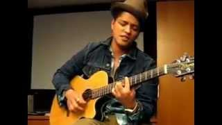 Bruno Mars - Count on Me (2010 Private Acoustic Live at OMD L.A.)