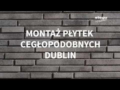 Montaż płytek cegłopodobnych Dublin Stegu