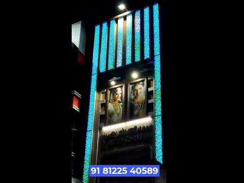 #Showroom #Elevation #ACP PVC Panel Design +91 81225 40589