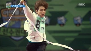 [ISAC] 아이돌스타 선수권대회 - Man's relay winner is BTS! 20160915