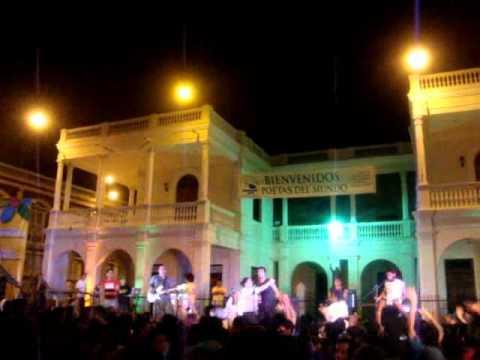 Cierre del Festival de Poesía 2012 – Granada, Nicaragua.flv