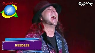 System Of A Down - Needles LIVE【Rock In Rio 2015 | 60fpsᴴᴰ】