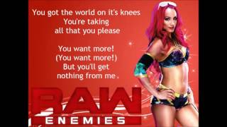 WWE Raw 2017 Theme Song - Enemies (lyrics)
