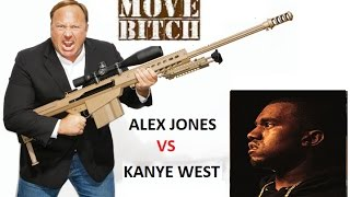 Alex Jones Sings Move Bitch Get Out The Way (BEST VERSION!!!! W/KANYE WEST BEEF!!!)