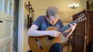 J.S. Bach - Bourree in E-minor BWV 996 (Acoustic Classical Guitar Cover by Jonas Lefvert)
